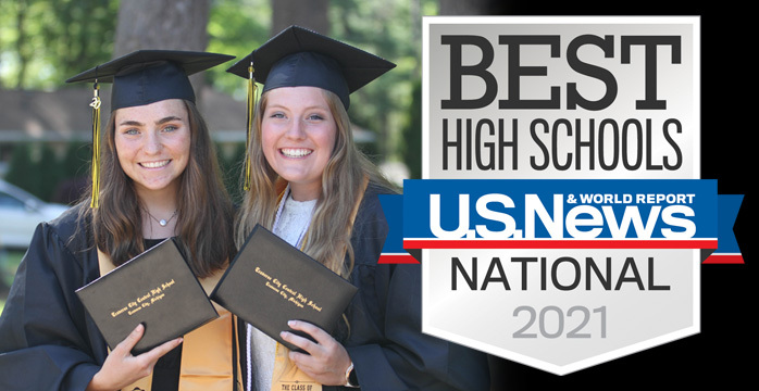 Central High School Ranked Among the Nation's Best High Schools by U.S. News & World Report