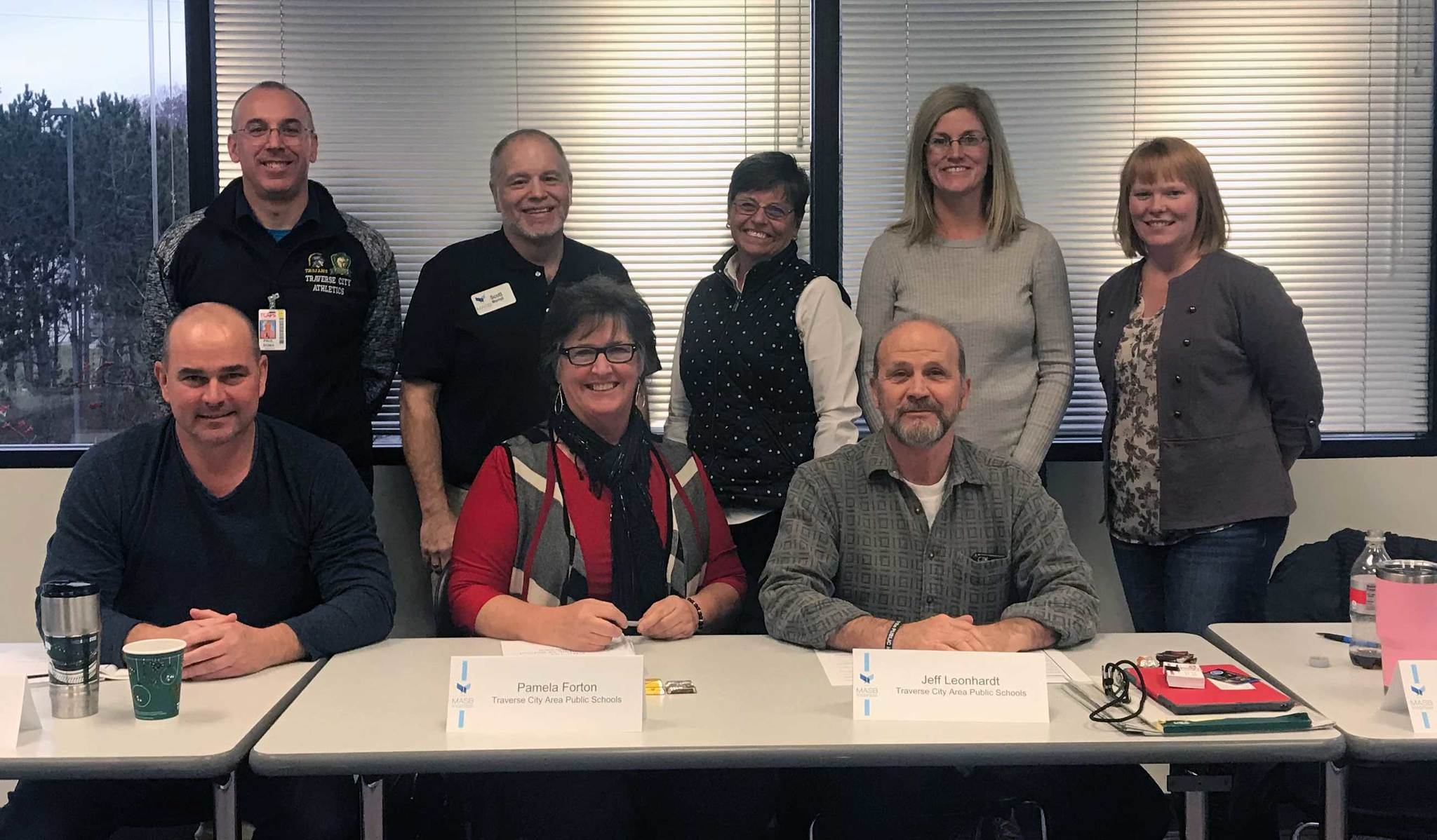 TCAPS board members participate in the MASB Role of a Board Member training in December 2018.