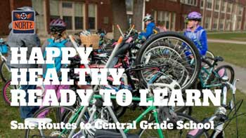 Happy Healthy Read to Learn - safe routes to central grade school