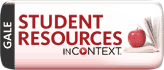 Gale student Resources in Context link and thumbnail