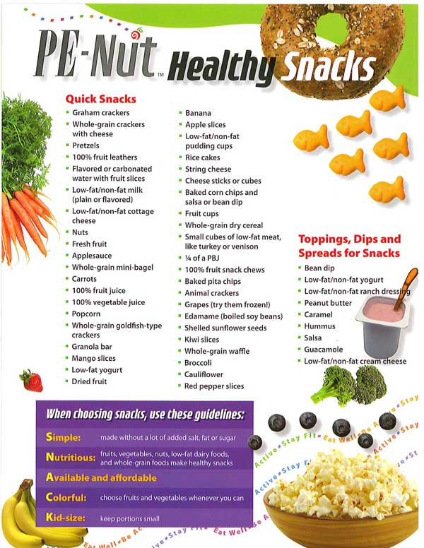 Quick Healthy Snack Ideas