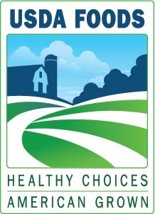 USDA Foods Healthy Choices American Grown logo