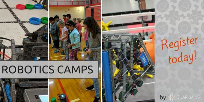 Quarkmine Robotics Summer Camps - Register Today