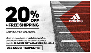 Click here for 20% off and free shipping on your adidas purchase