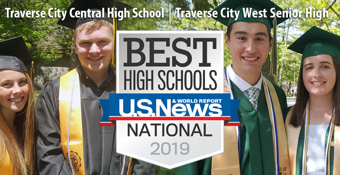 TCAPS high schools ranked among Best High Schools by U.S. News & World Report
