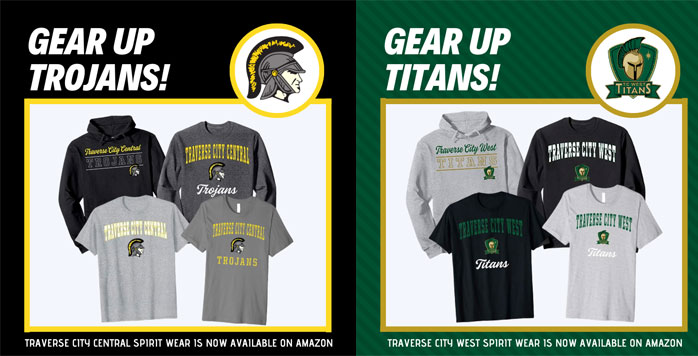 Gear Up Titans and Trojans - Purchase merchandise on Amazon