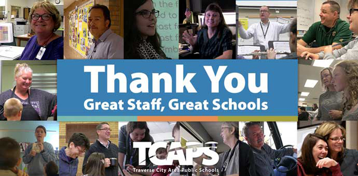 Thank You Great Staff, Great Schools