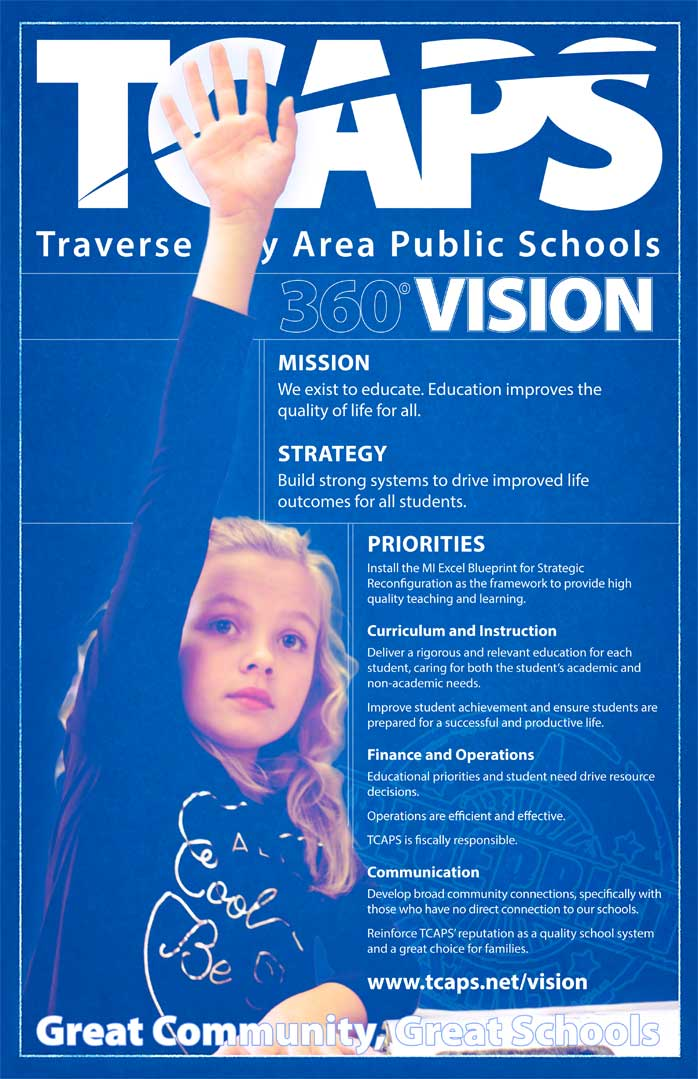 TCAPS Vision Poster - see below image for written text