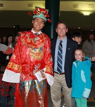 Chinese New Year Celebration at West Senior High School