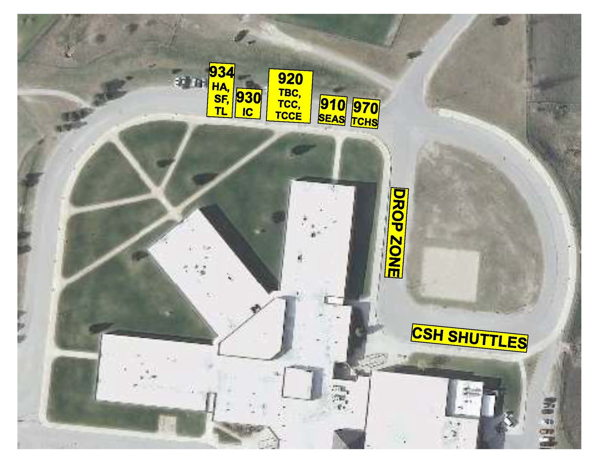 EMS morning bus ramp map