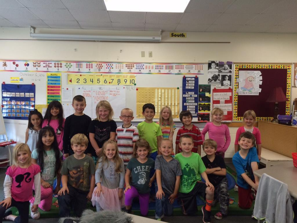 October Classroom of the Month - Mrs. Beckwith