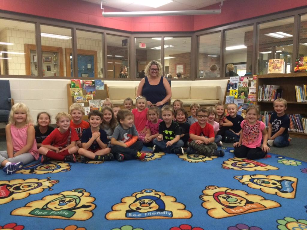 October Classroom of the Month - Mrs. Kaberle