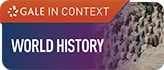Gale in Context World History database logo