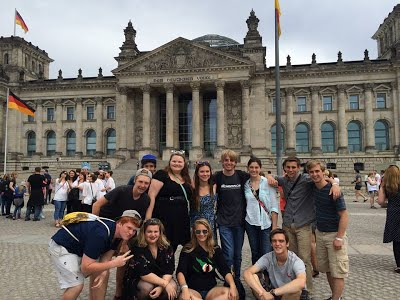 WSH Students in Germany Photo
